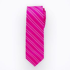 Azalea Striped Long Tie
