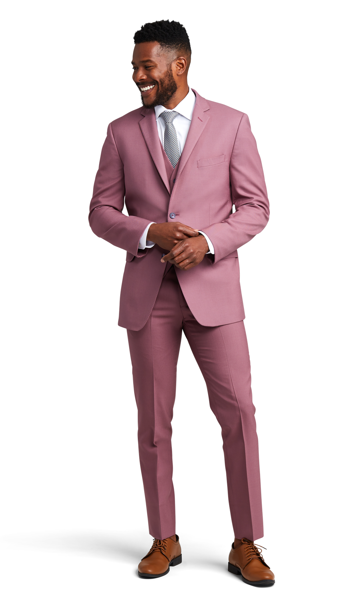 Rose Pink Suit Online Rental 2