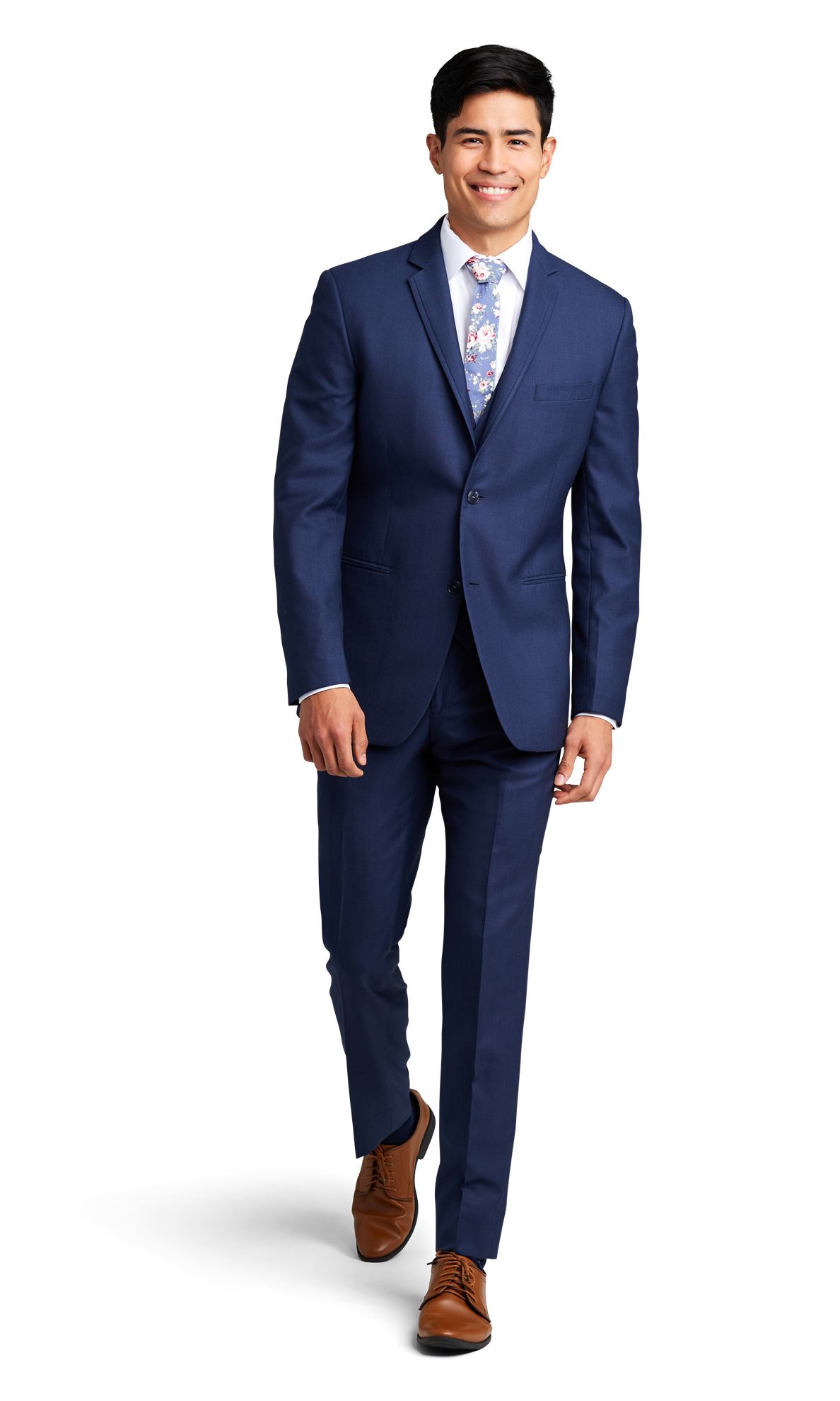Dark Blue Notch Lapel Suit Online Rental 1