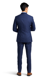 Dark Blue Notch Lapel Suit Online Rental 3