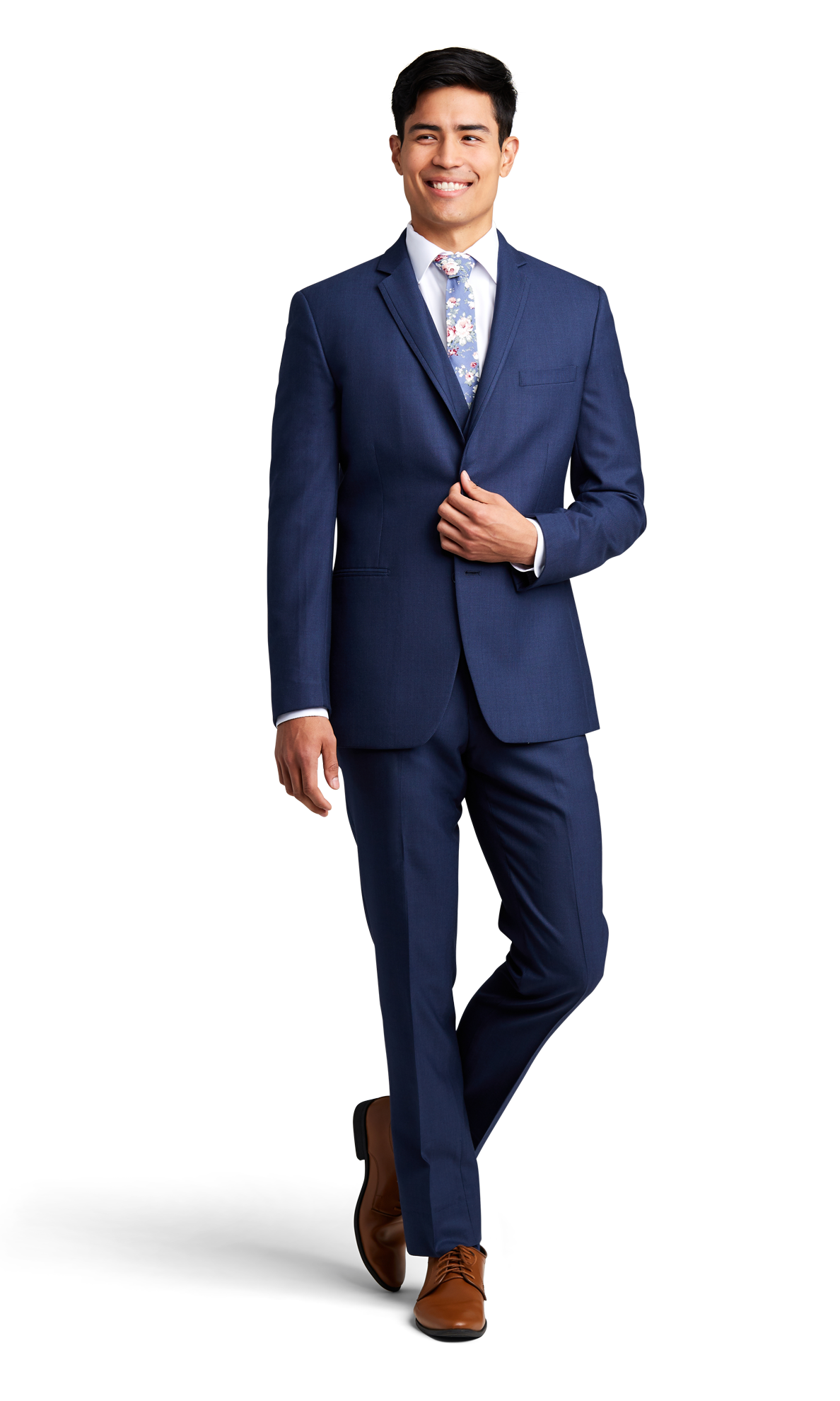 Dark Blue Notch Lapel Suit Online Rental 4