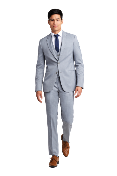Heather Grey Performance Suit by Michael Kors